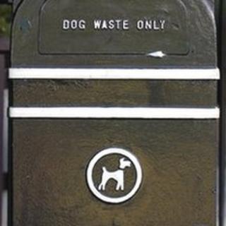 Dog fouling bin