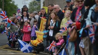 Torch relay in Scotland