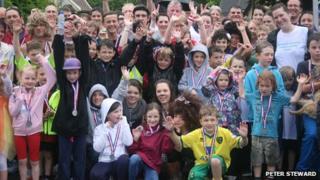 Hethersett fun run for London 2012 celebrations
