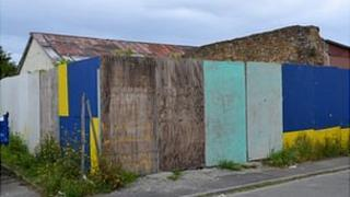 Former South Legion Hall site in Route des Couture, Guernsey