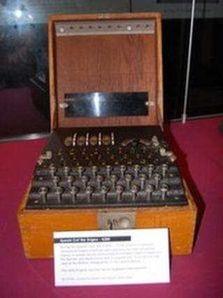 The rare Enigma machine was used during the Spanish Civil War