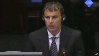 Elvedin Pasic giving evidence on 9 Jul 2012