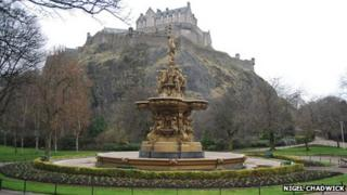 Ross Fountain, West Princes Street Gardens