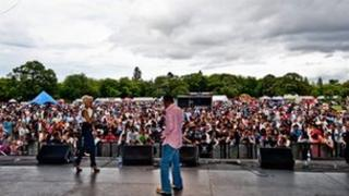 The Middlesbrough Mela is an annual weekend long event
