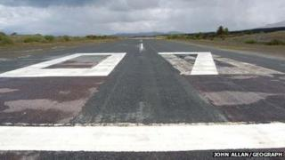 Ashaig airstrip. Pic: John Allan/Geograph