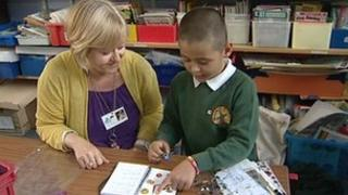 One-to-one tuition in Oxfordshire school