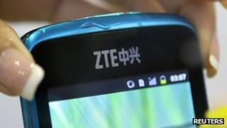 ZTE-made mobile phone