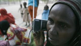 Chadian radio listener