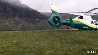Great North Air Ambulance Pride of Cumbria