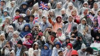 A British crowd