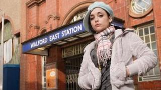 Shona McGarty as Whitney Dean in EastEnders