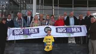 A rally was held by campaigners outside the Senedd on Tuesday