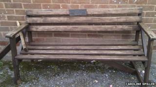 Otterton Mill's bench