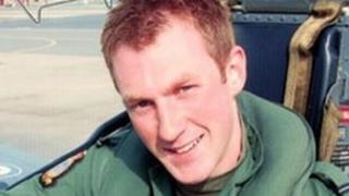 Flt Lt Adam Sanders