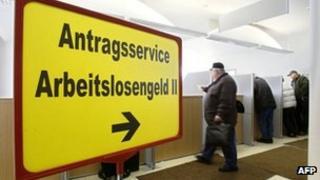 German unemployment office