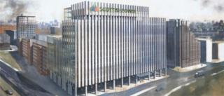Artists impression of new Scottish Power building