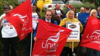 Remploy strike in Staffordshire