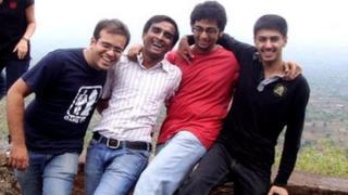 Anuj Bidve and friends