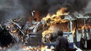 Buses explode in Belfast
