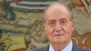 King Juan Carlos, file pic