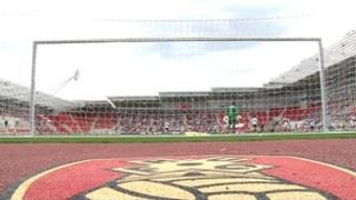 Rotherham United's New York Stadium