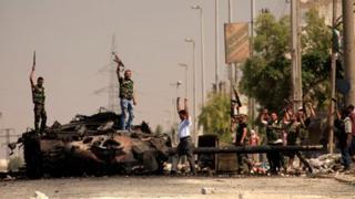 Rebels in upbeat mood in Aleppo