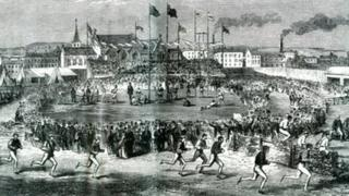 Liverpool Olympic Festival drawing