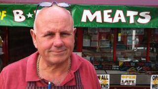 Dennis Spurr, owner of The Fantastic Sausage Company in Weymouth