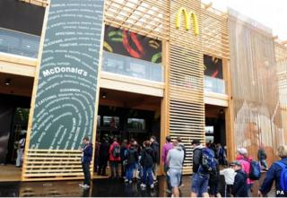 McDonald's at Olympic Park