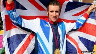 Bradley Wiggins at the London Games
