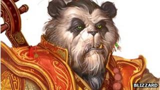 World of Warcraft character art