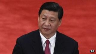 Xi Jinping, file image from 4 May 2012