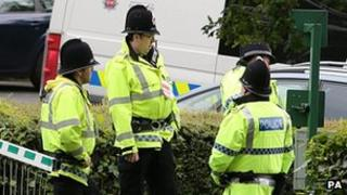 Officers from the Greater Manchester Police