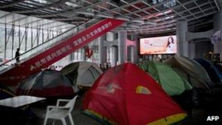 File photo: Hong Kong's Occupy movement