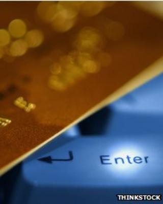 Using credit card on internet