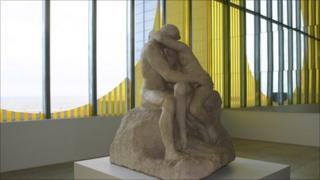 The Kiss at Turner Contemporary