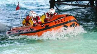 Eastbourne inshore lifeboat