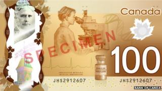 Canadian $100 bank note