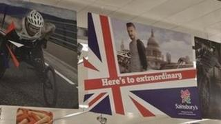 Sainsbury's in store promotion for Paralympics