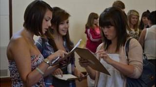 GCSE results: La Mare de Carteret Pupils