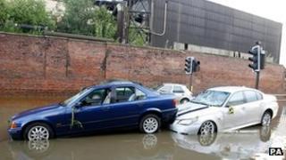 Sheffield floods in 2007