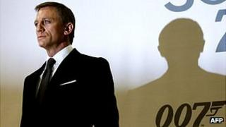 Actor Daniel Craig at James Bond film event, 24 Jan 08