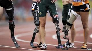 Paralympic athletes