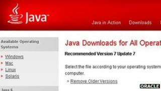 Java download page