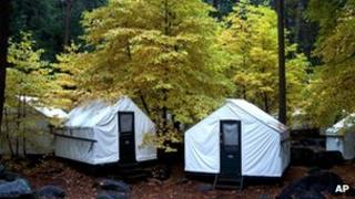 Yosemite tent cabins undated fule picture