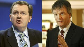David Mundell and Michael Moore