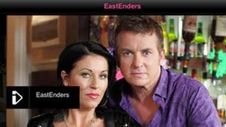 iPlayer showing EastEnders