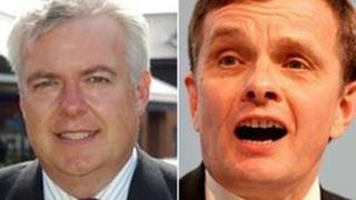 Carwyn Jones and David Jones