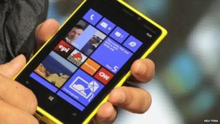 A Nokia smartphone