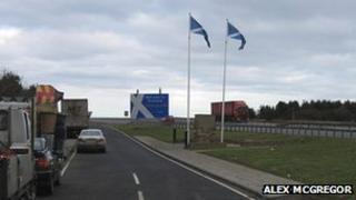 Scotland England A1 Border
